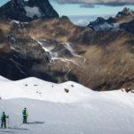 Tijn Vuijk, Martine van der Hoorn en Stephan Verheij touring in Sölden
